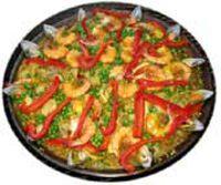 Paella de Marisco морска храна Paella