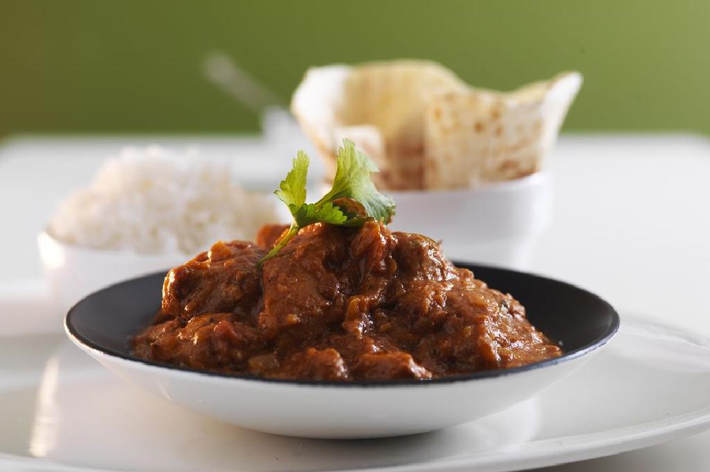 Feeling The Heat Then Cool Down With Curry