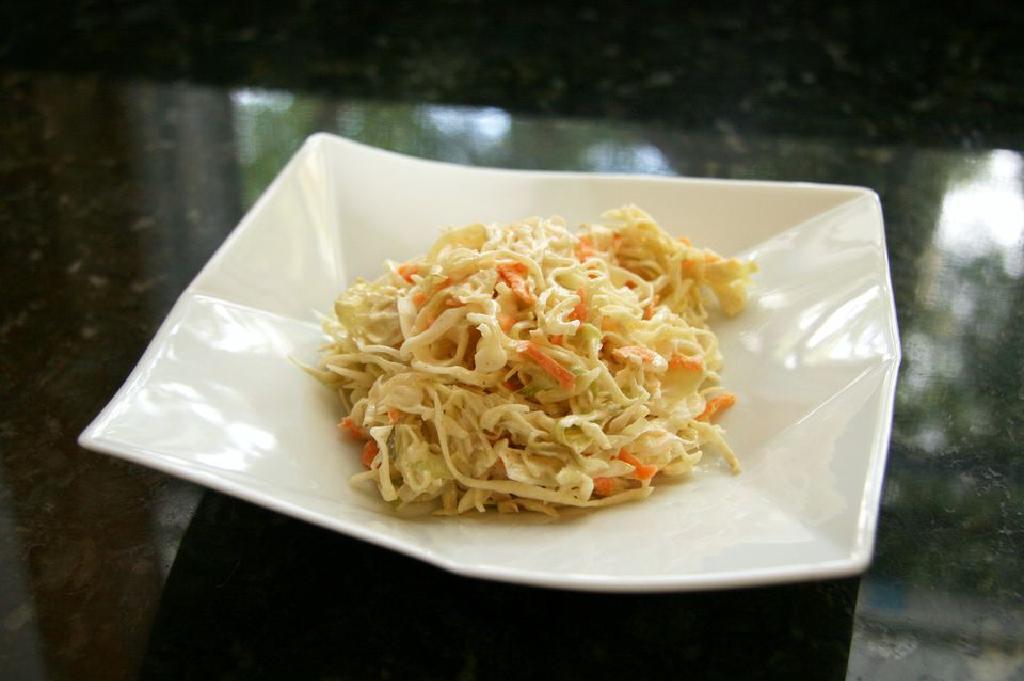 coleslaw arzător de grăsimi