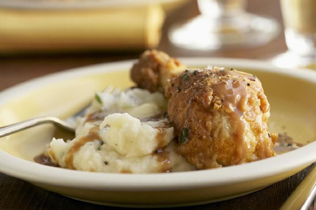 ricetta a basso contenuto di grassi per friggere pollo