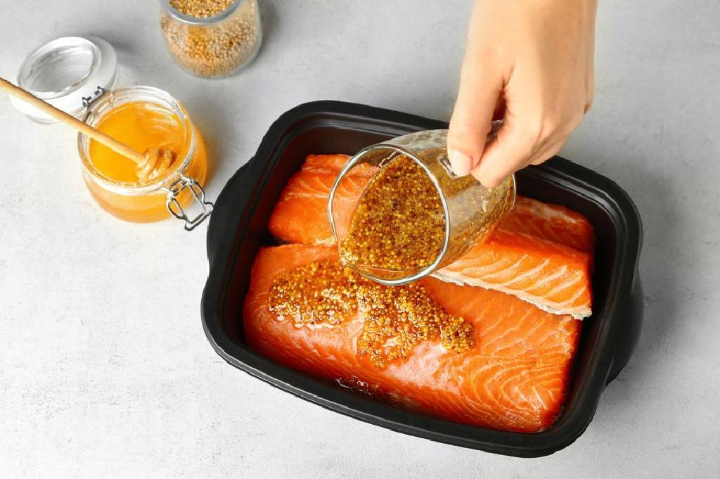 Resepi Ikan Salmon Salai - Salmon Dalam Sos Krim Mengikut Langkah Demi Langkah Resipi Dengan